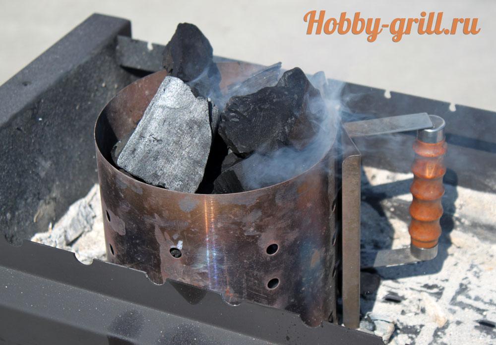 стартер для угля