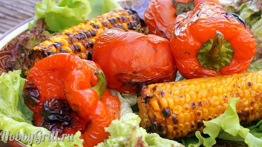 Приготовить в тандыре овощи