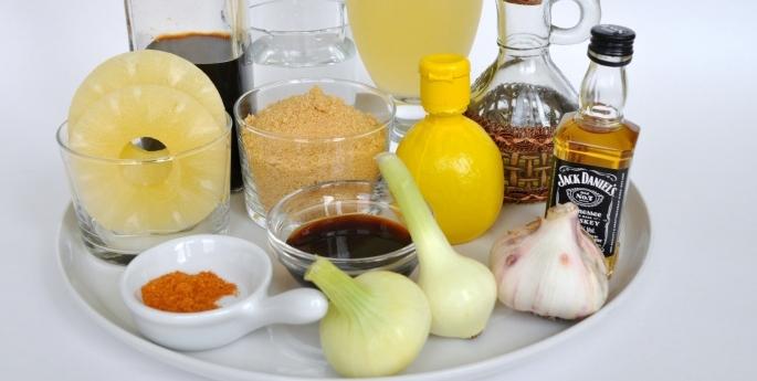 соус — глазурь Джек Дэниел'с для ребрышек барбекю